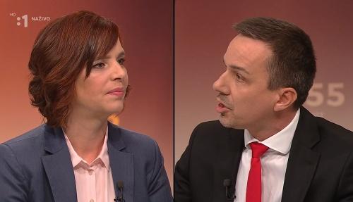 Veronika Remišová a Erik