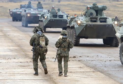 Profesionálni vojaci sú pripravení,