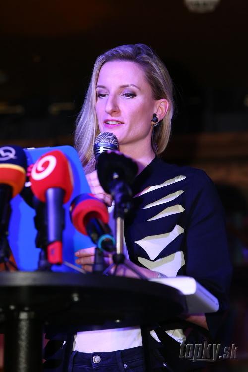Adela Vinczeová čítala úryvok