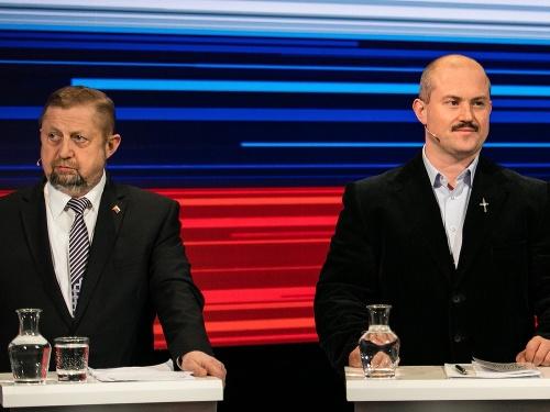 Štefan Harabin a Marian