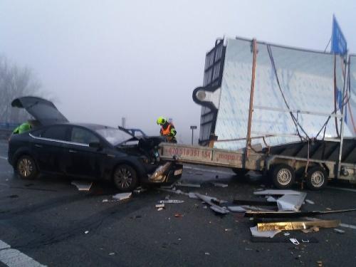 FOTO Ďalšia nehoda autobusu: