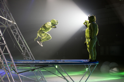 Krasokorčuliarsku choreografiu šou Angry