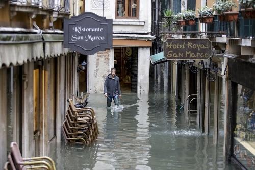 FOTO Benátky zasiahli najhoršie