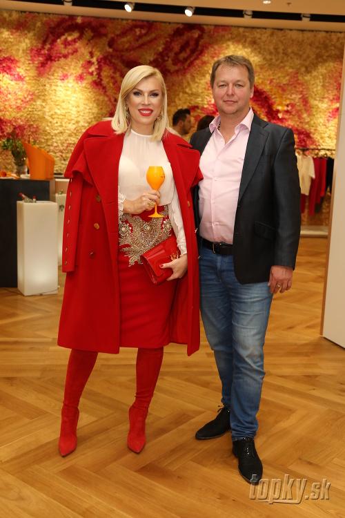 Gabika Drobová s partnerom