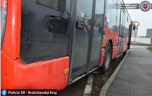 Obrovská nezodpovednosť vodiča bratislavskej