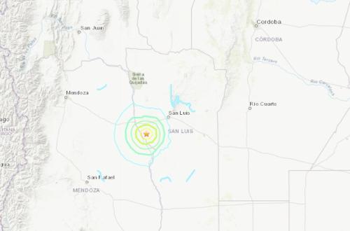 Argentínou otriaslo silné zemetrasenie,
