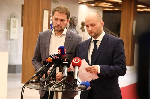 Jaroslav Naď a Igor