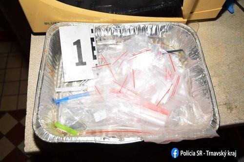 Polícia prekvapila drogového dílera