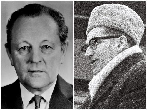 Miloš Jakeš a Lubomír