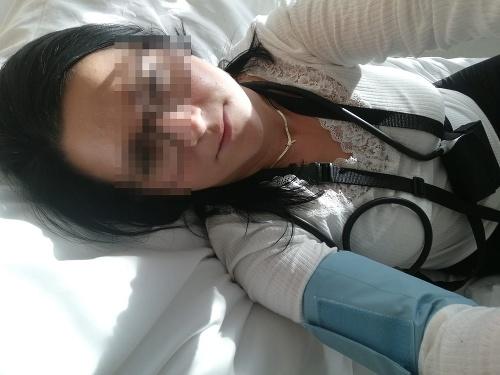 Andrea sa v nemocnici