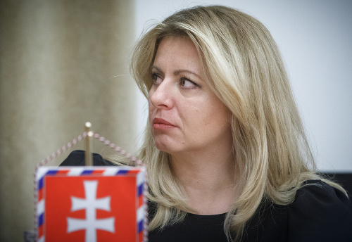 Zuzana Čaputová v prezidentskom