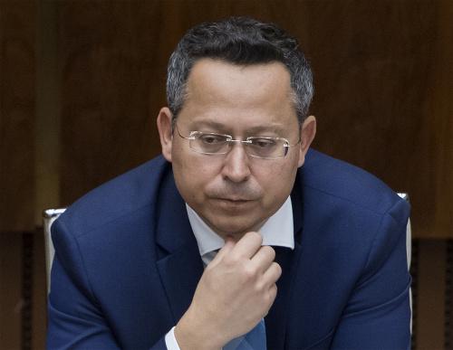 Miinister financií SR Ladislav
