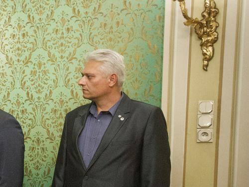 Viktor Kiss (úplne vpravo)