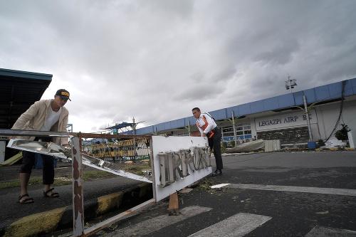 Tajfún napáchal obrovské škody
