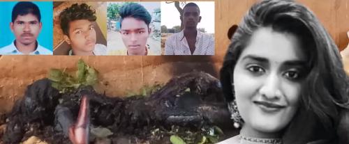 Hromadné znásilnenie a upálenie