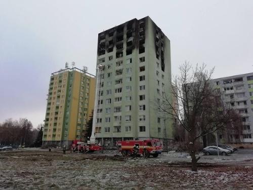 Piatkový výbuch v Prešove: