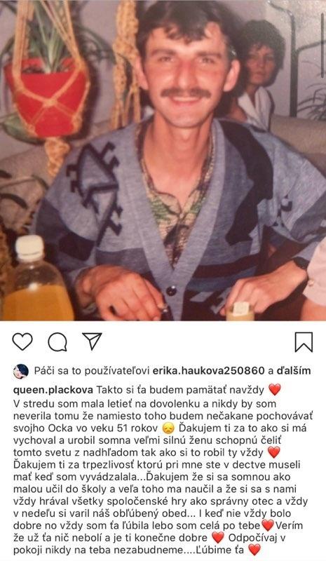 Obrovský žiaľ Zuzany Plačkovej: