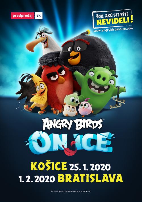 Šou Angry Birds on
