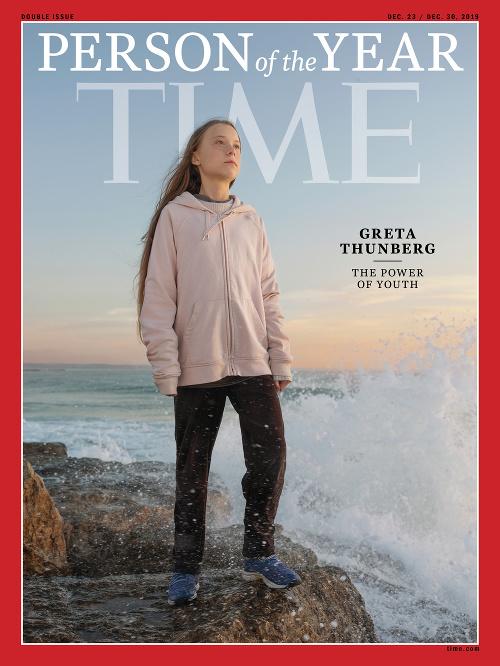 Greta Thunbergová sa stala
