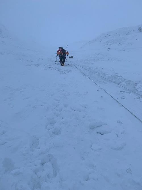 Pád lavíny v Nízkych
