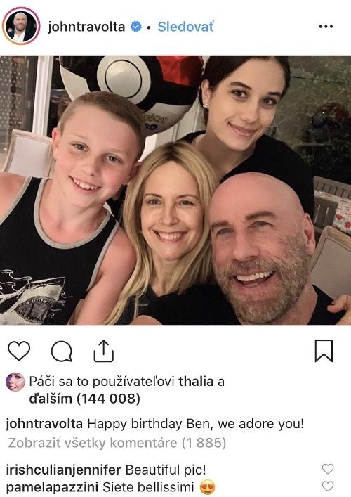 John Travolta s milovanou