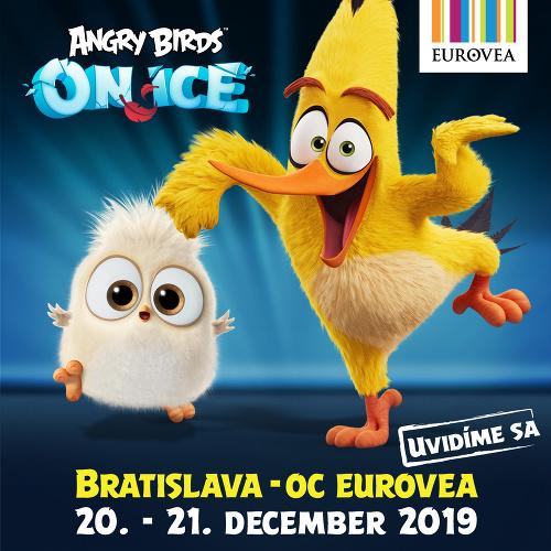 Unikátna šou Angry Birds