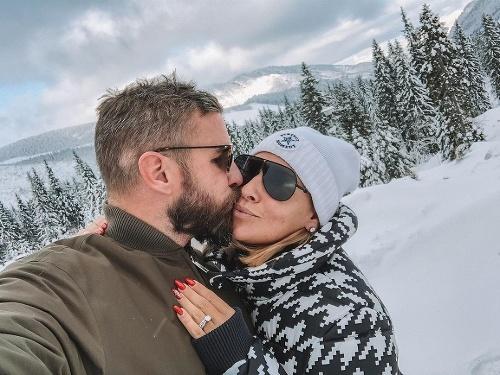 Dominika Cibulková s manželom