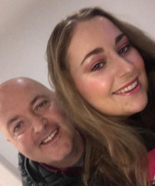FOTO Otec s dcérou