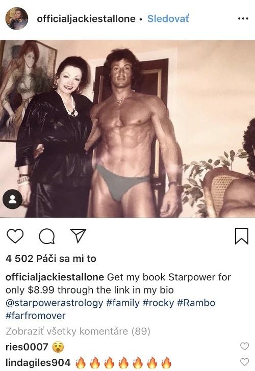 Jackie Stallone zverejňuje aj
