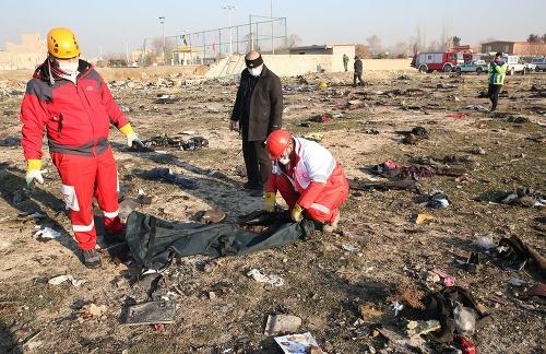 Katastrofa ukrajinského boeingu: Iránska