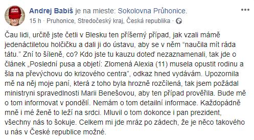 Šokujúci prípad Alexie, ktorá