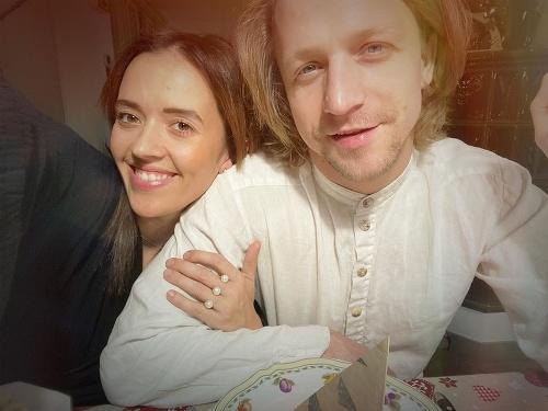 Tamara Klusová a Tomáš