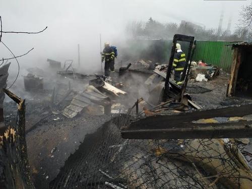 Pri požiari v Košiciach
