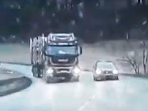 Nebezpečné predbiehanie v Česku