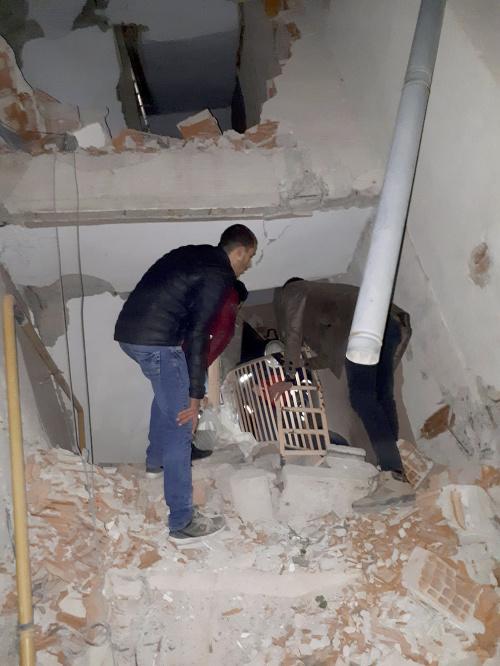 Obrovské zemetrasenie v Turecku.