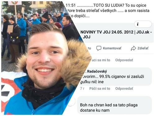 Erik Radačovský o sebe
