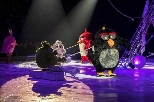 Slovenská megašou Angry Birds