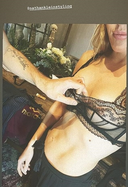 Ellie Goulding na svojej