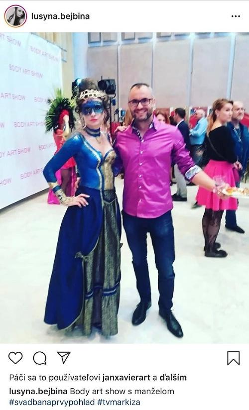Lucia s manželom Ivanom