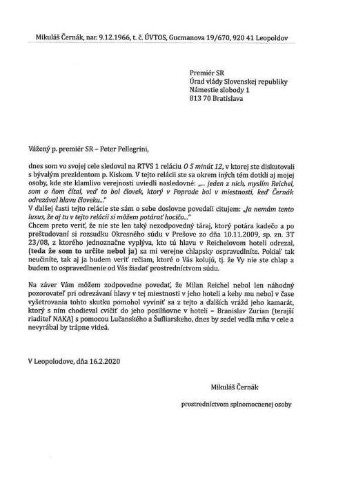 List, ktorý z leopoldovského