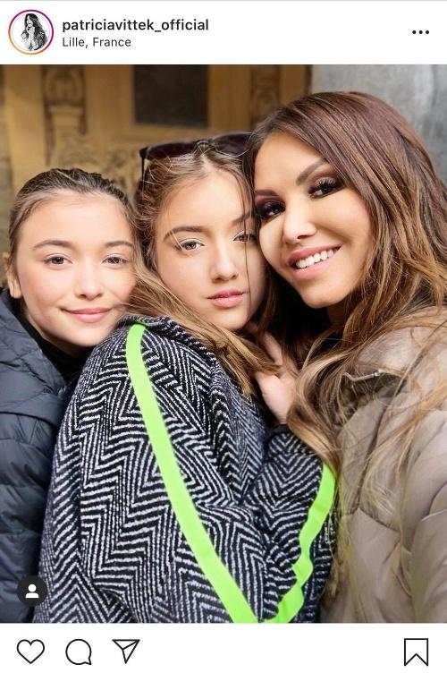 Patrícia Vitteková s dcérami