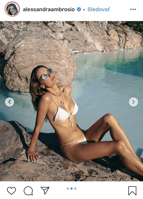 Alessandra Ambrosio má božské