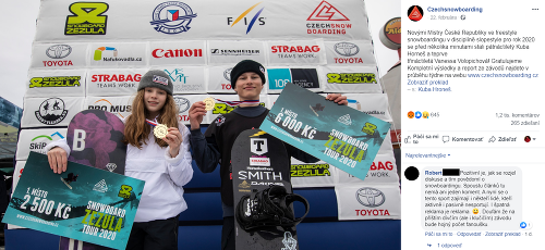 Verešovej dcéra vyhrala preteky: