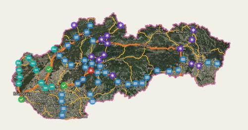 Slovensko opäť zasypal sneh: