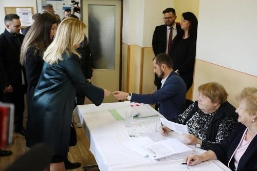 Hlava štátu Zuzana Čaputová