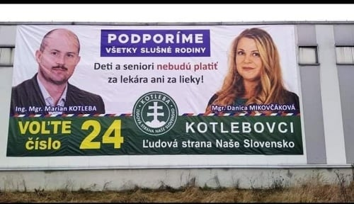 Danica Mikovčáková je kandidátkou