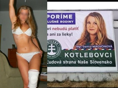 Kotlebova kandidátka.