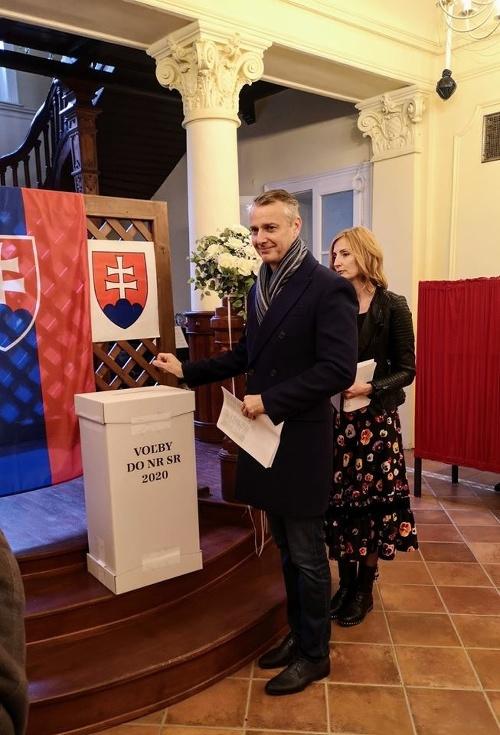 Richard Raši volil v