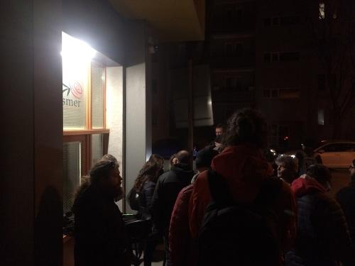 Volebná noc v Smer-SD