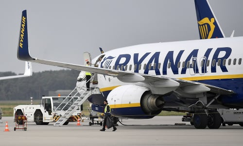 Letecká spoločnosť Ryanair zrušila